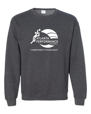 Atlanta Performance Sweatshirt- Dark Heather