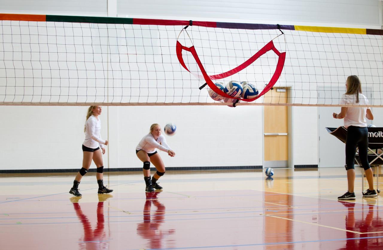 Pop-Up Volleyball Catcher- Players