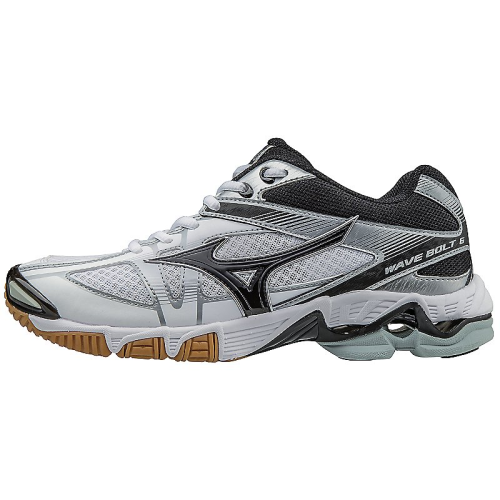 Mizuno Women's Wave Bolt 6 - White/Black
