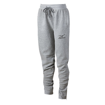 Mizuno Women's Jogger Pant- Heathered Light Grey