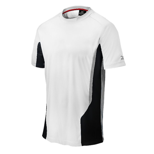 Mizuno Men's Elite Crew- White/Black