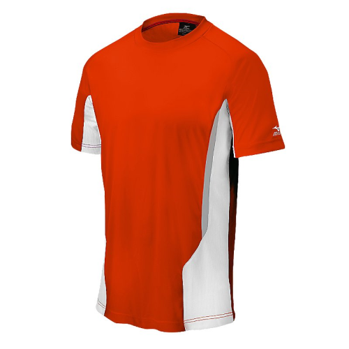 Mizuno Men's Elite Crew- Orange/White