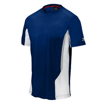 Mizuno Men's Elite Crew- Navy/White