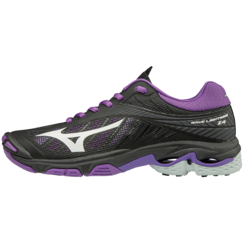 Mizuno Women's Wave Lightning Z4 - Black/Violet