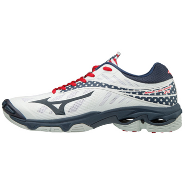 Mizuno Women's Wave Lightning Z4 - Stars and Stripes