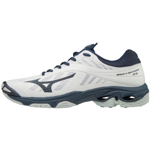 Mizuno Women's Wave Lightning Z4 - White/Navy