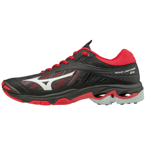 Mizuno Women's Wave Lightning Z4 - Black/Red