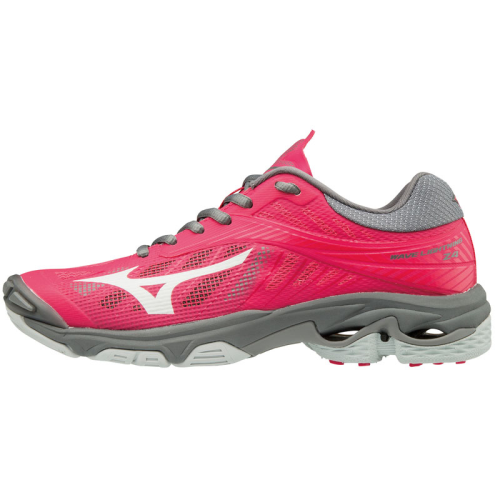 Mizuno Women's Wave Lightning Z4 - Azalea/Charcoal