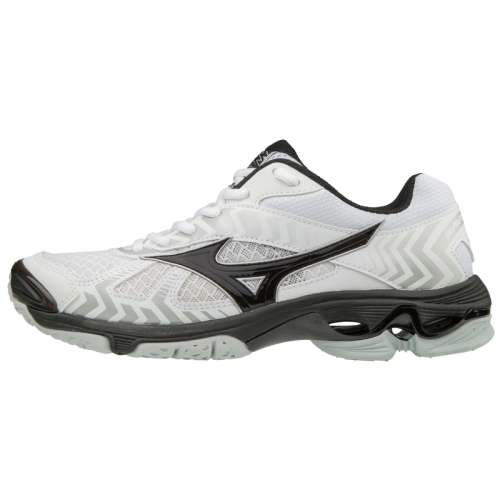 Mizuno Men's Wave Bolt 7 - White/Black