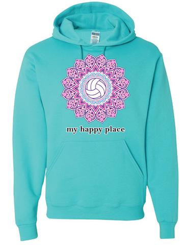 My Happy Place Hoodie- Scuba
