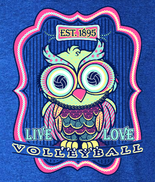 Volleyball Owl