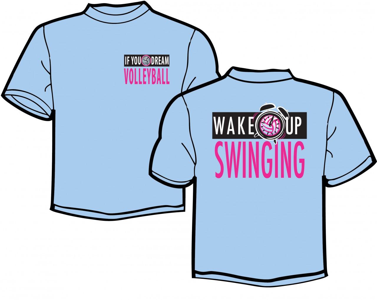 Wake Up Swinging SS T-Shirt
