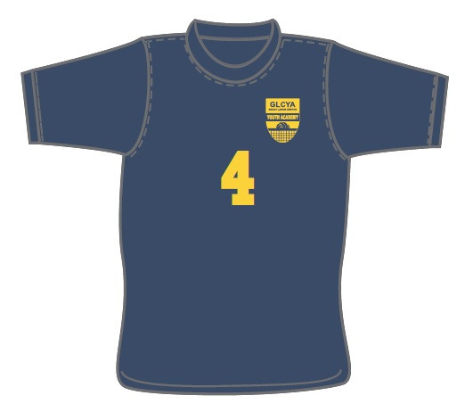 GLCYA Glen Ellyn Numbered T-Shirt