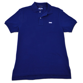 Men's Classic Boat Tie Polo Shirt - Navy Blue