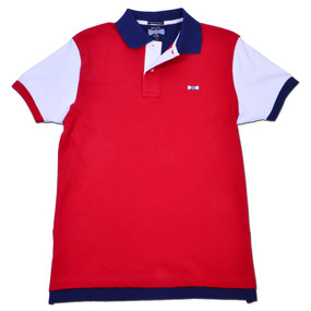 Men's Exclusive Boat Tie Polo Shirt - America