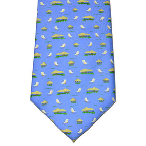 The Tiki Lounge Tie - Blue
