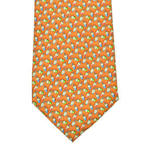 Vineyard Vines Popsicles Neck Tie - Orange