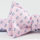 Southern Tide Skipjack Bow Tie - Light Pink