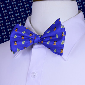 Bell of Rights Bow Tie - Blue