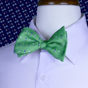 Tee Time Bow Tie - Green