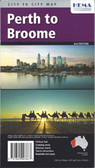 Perth to Broome Map