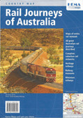 Australia Rail Journeys Map