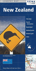 New Zealand Map Travel Map