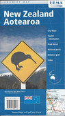 New Zealand Aotearoa map Travel Map