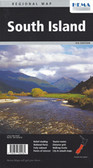 New Zealand South Island Map Travel Map