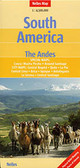 South America Andes Travel Map