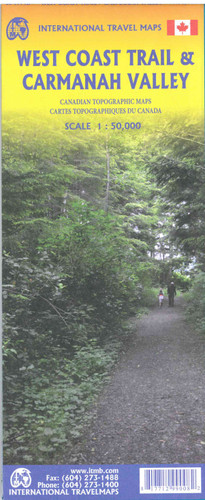 West Coast Trail Carmanah Valley Travel Map