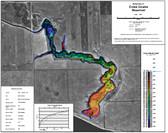 Cross Coulee Lake Map | Canada map | GoTrekkers Map Store