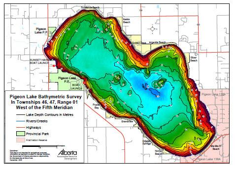 map of pigeon lake ontario Pigeon Lake Map Canada Map Gotrekkers Map Store map of pigeon lake ontario