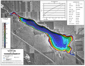 Tyrell Lake Map