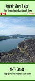 Great Slave Lake East Arm from Fort Resolution Map | Canoe Routes  | GoTrekkers Map Store