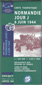Normandy D Day Map | Historical Map | GoTrekkers Map Store