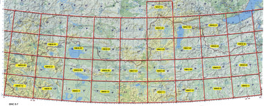 Mongolia NW 250K topographic maps