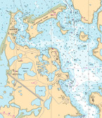 Nautical Chart Example Detail - Arctic Region