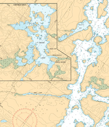 Nautical Chart Example Detail - Central & Great Lakes Region