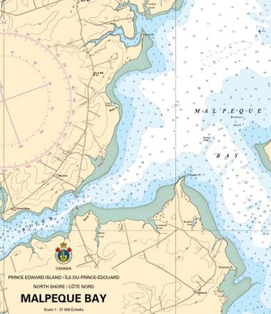Nautical Chart Detail - Atlantic Region