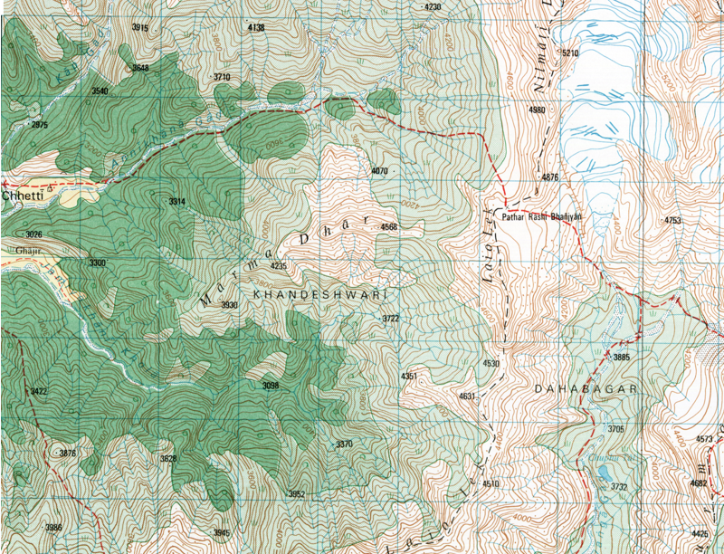 Ontario Topographic Map.Topographic Maps Nepal Nepal Maps Gotrekkers Com