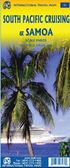 Samoa and South Pacific Cruising Travel Map