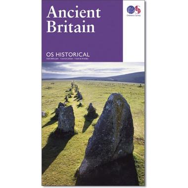Ancient Britain Historical Map