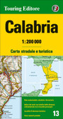 Calabria Travel Map