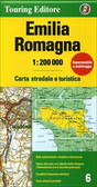 Emilia Romagna Road and Travel Map