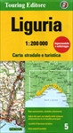 Liguria Road and Travel Map
