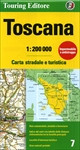 Tuscany Road and Travel Map
