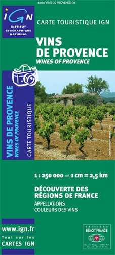 Wines of Provence Travel Map