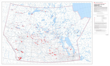 "Canada government Indian & Inuit Communities Prairie Provinces Map 47"" x 28"" from the 1980's"