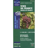 Wines of Cotes du Rhone Travel Map